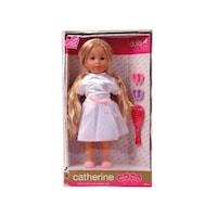 Baba, Catherine extra hosszú szőke hajú