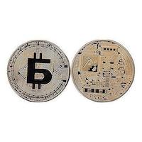 Сувенирна монета Martbg Bitcoin, Биткоин БГ, в защитна капсула