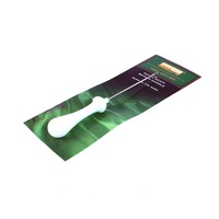 Игла PB products Bait lip needle, за риболов, Бял