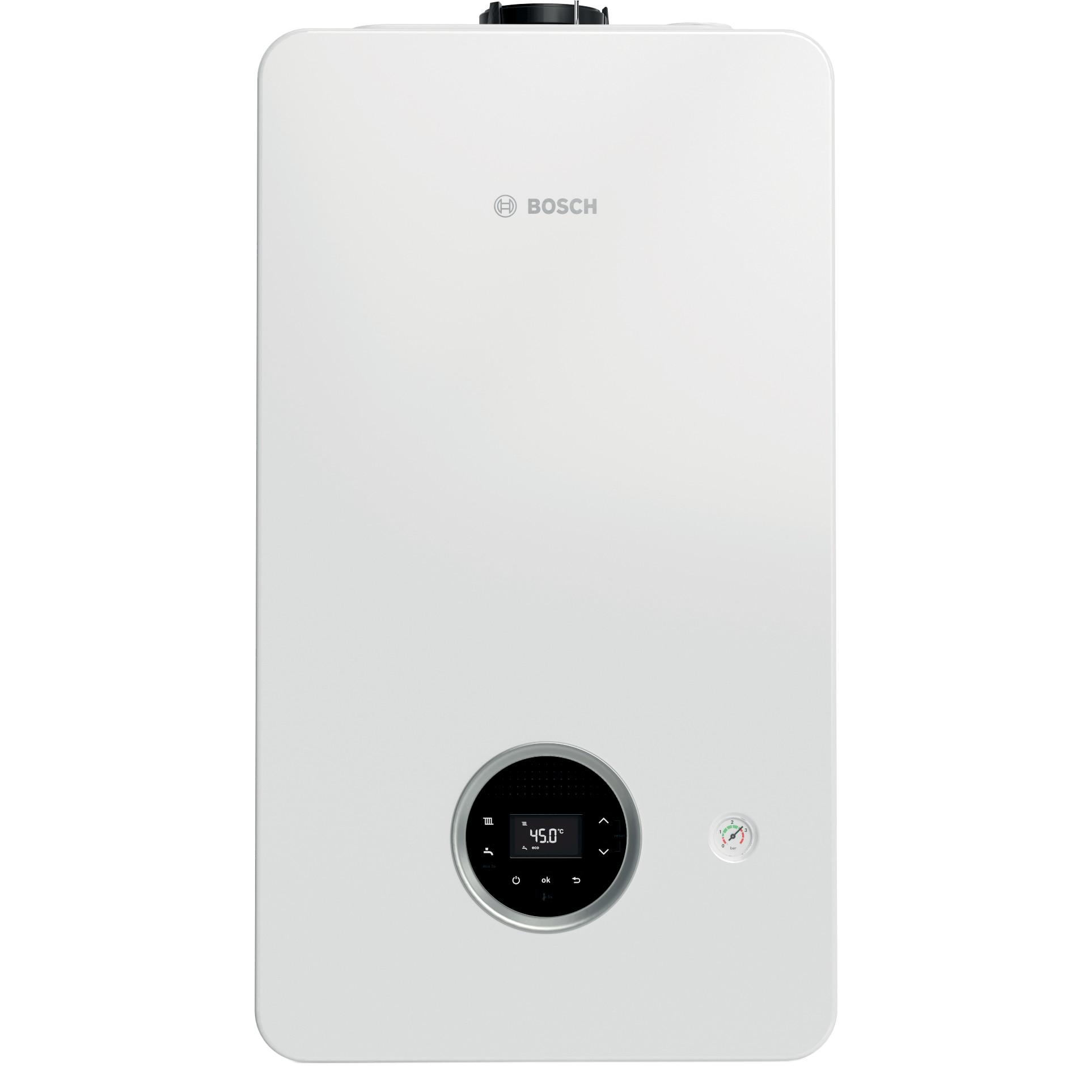 Fotografie Centrala in condensare Bosch Condens 2300 W, Gaz, 24/30 kW, Clasa A, GC2300 W 24 C 23, fara kit inclus