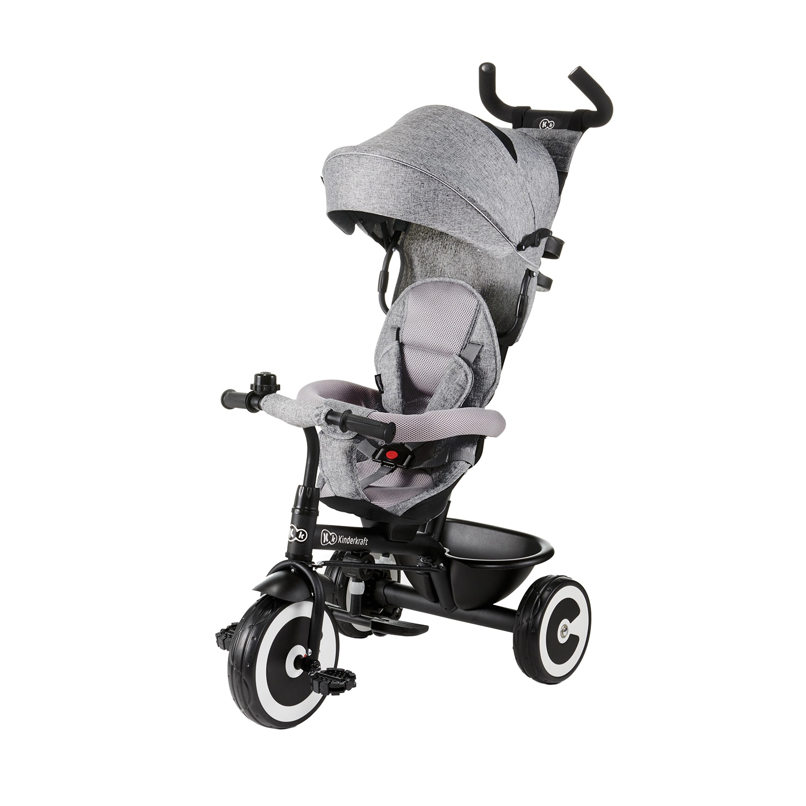 Fotografie Tricicleta Kinderkraft Aston, gri