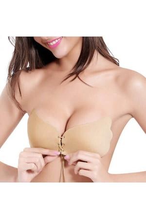 Сутиен без презрамки Freebra Bra Invisible,повдигащ ефект,телесен
