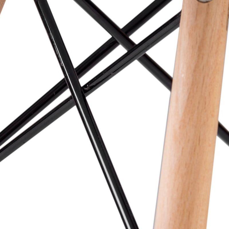 Modern konyha szék, nappali, étkező vagy kerti szék, C 173 modell, fehér szín
