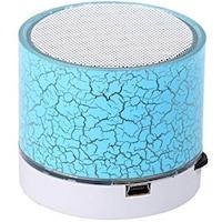 Boxa Portabila Bluetooth Uni , 3W, USB, Slot Card, AUX-IN, Aluminiu, albastru