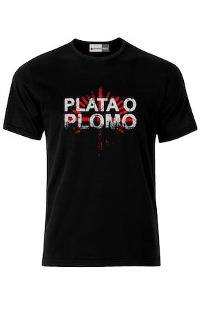 Мъжка Тениска VG Style Пабло Ескобар Наркос Plata O Plomo Narcos Pablo Escobar Colombia