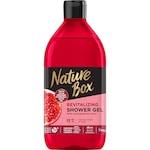 Gel de dus Nature Box cu ulei de rodie 100% presat la rece, vegan, 385 ml