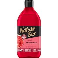 Nature Box sampon Gránátalma festett hajra, 385 ml