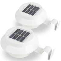 Garden of Eden 2 db kültéri ereszcsatornára szerelhető napelemes lámpa, fehér 11445 WH