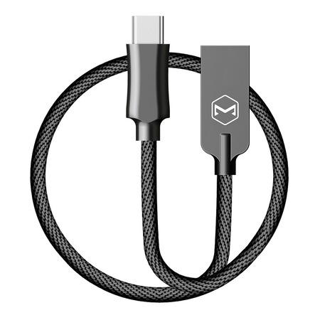USB Type-C кабел Xmart Knight Series, 1м, черен