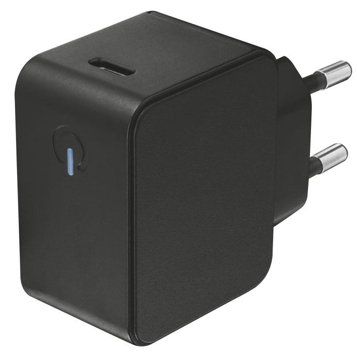 Fotografie Incarcator retea Trust Summa 18, USB Type C, Black