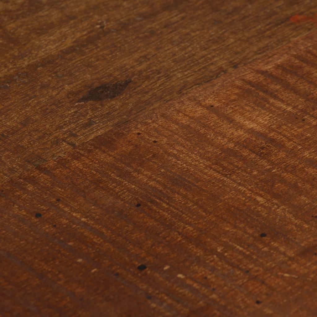 vidaXL 2 db sötétbarna, tömör újrahasznosított fa bárszék xKq9OA