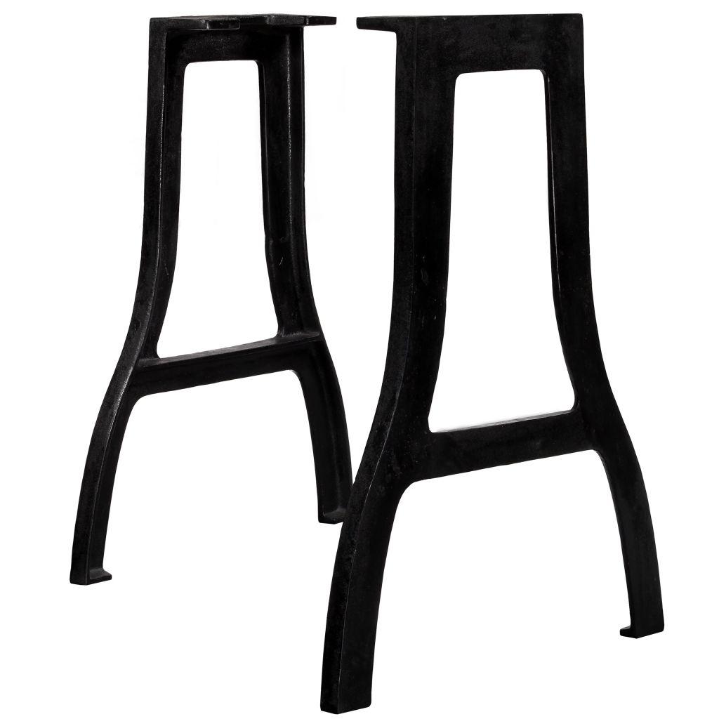 vidaXL 2 db öntöttvas étkezőasztal láb X alakú vázzal eMAG.hu