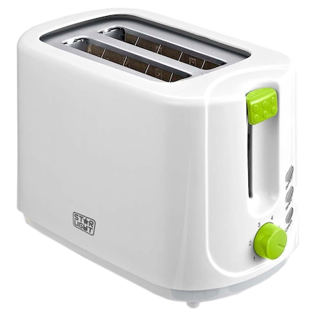Star-Light TD-G750 Kenyérpirító, 750W, 2 szelet, Fehér/Zöld