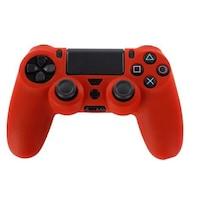 PS4 sorozat - Kontrollerhez szilikon borítás - piros