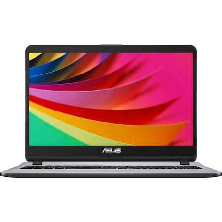 "Лаптоп Asus X507UA-EJ893, X507UA-EJ893.8GB, 15.6"", Intel Pentium Gold 4417U 2.3 GHz 2MB Cache (2-ядрен), Intel HD Graphics 610, 8 GB 2400 MHz DDR4, Сив"