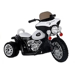Police 6V Elektromos kismotor fekete