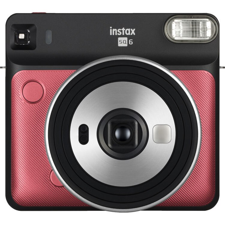 Fotografie Camera foto instant Fujifilm Instax Square SQ6, Ruby Red