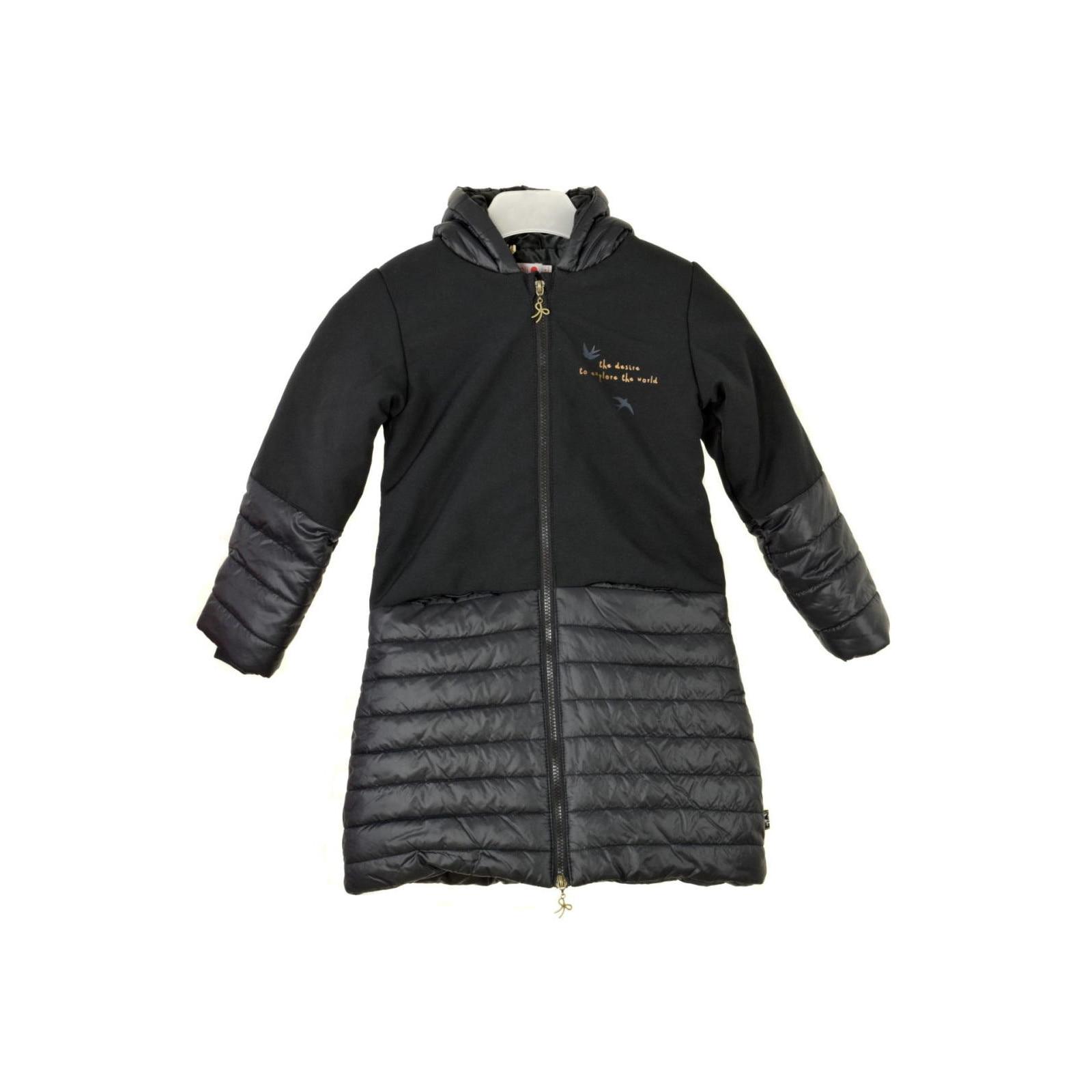 Boboli fekete, fecskés lány téli kabát – 128 eMAG.hu