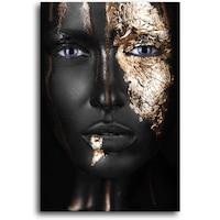 Картина на платно Canvas Gold Face, 50 x 70 cm