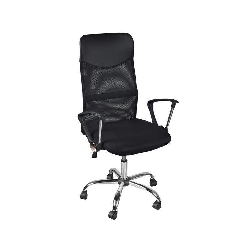 Malatec Ügyvezetői, irodai szék, állítható magasság, fekete szín