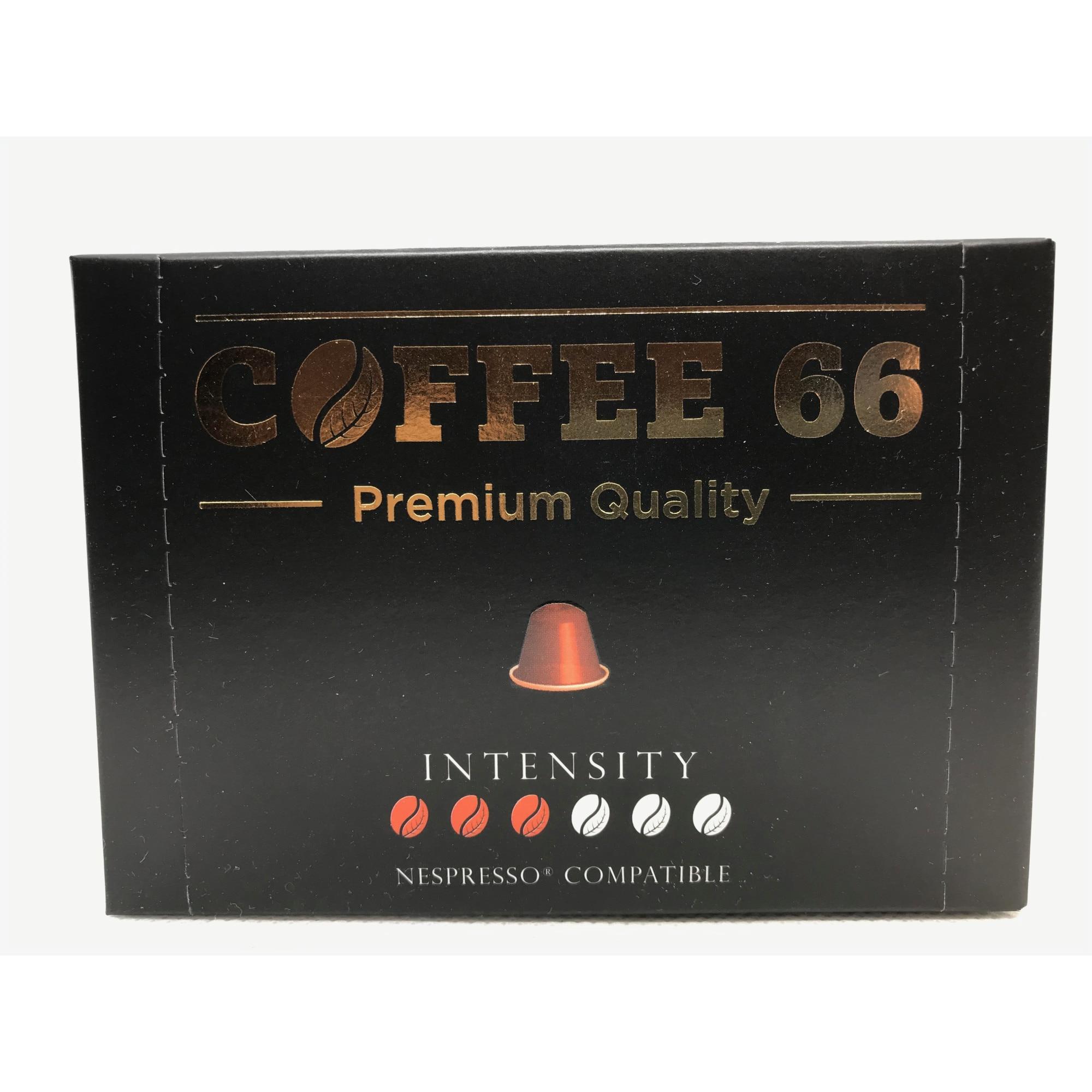 Nespresso kompatibilis premium kávékapszulák BRASIL 10 kapszula
