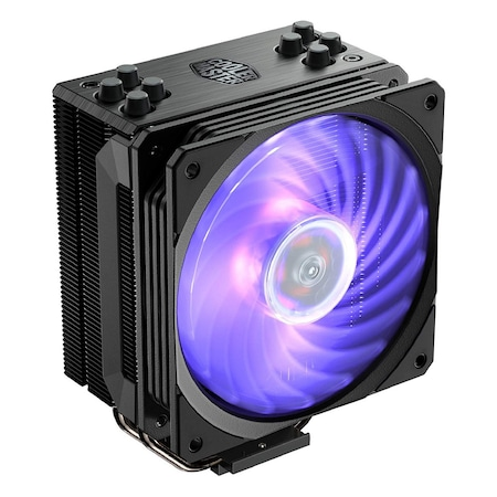 Cooler Procesor Cooler Master Hyper 212 RGB Black Edition, AMD/INTEL