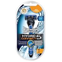 Wilkinson HYDRO CONNECT 5 csomag: borotva + borotvafej