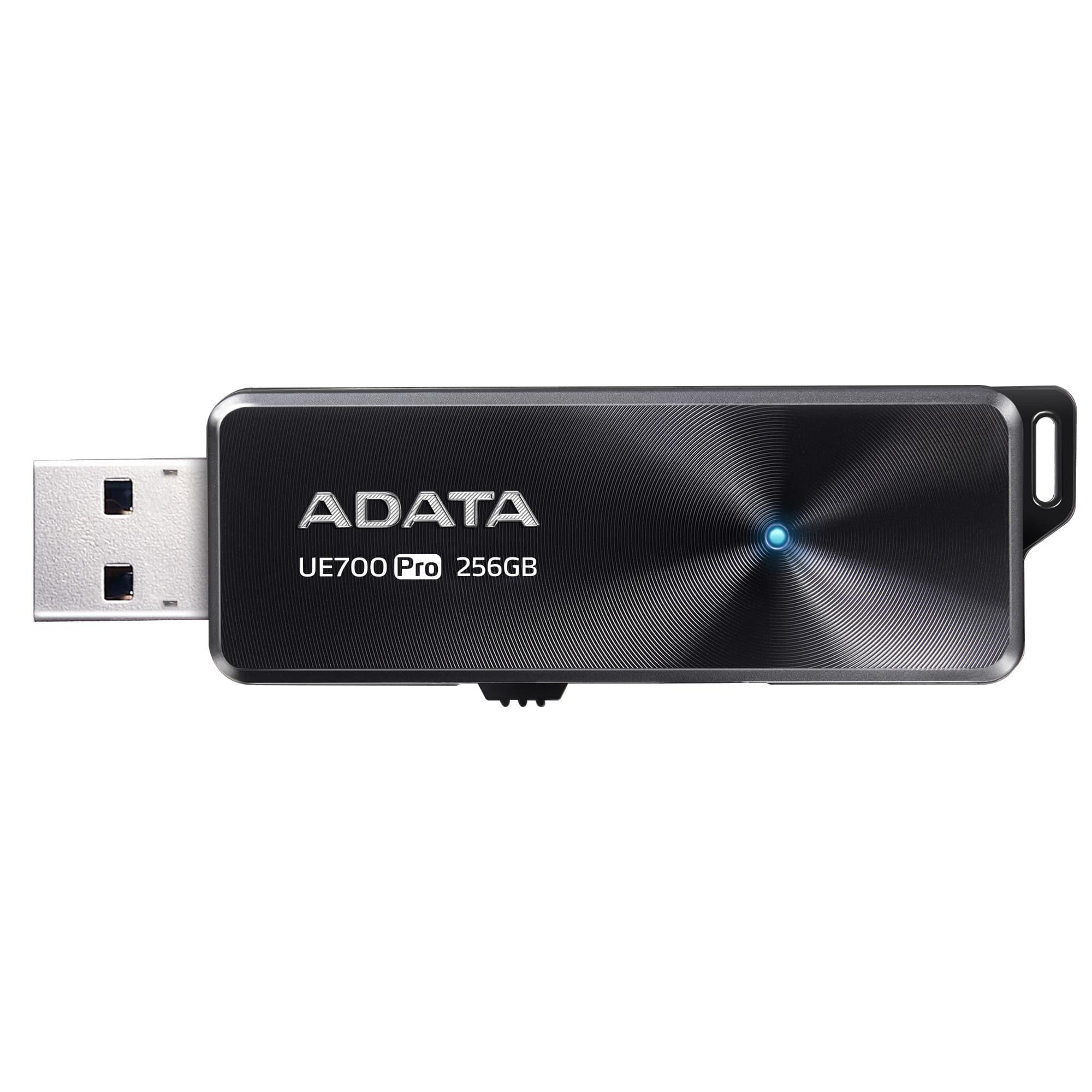 Fotografie Memorie USB ADATA UE700PRO, 256GB, USB 3.1, Negru