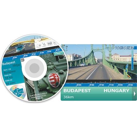 """Film """"Budapest hídjai"""" otthoni vagy edzőtermi edzéshez: Spinning / Szobakerékpár / Edzőgörgő / Futópad"""