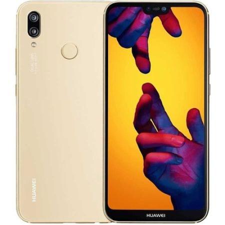 Комплект Смартфон Huawei P20 Lite, Dual SIM, 64GB, 4G, Gold + Силиконов гръб