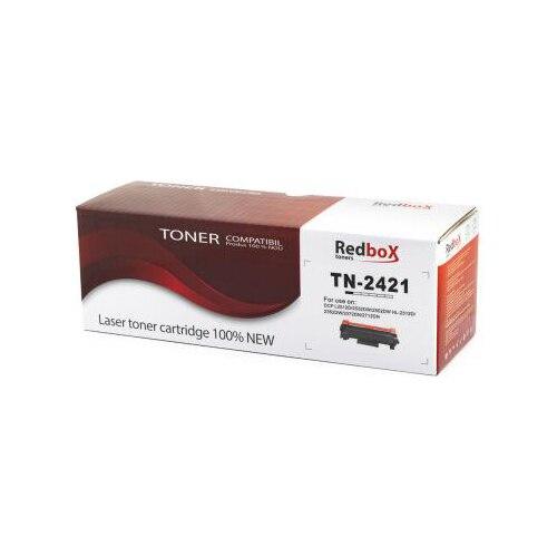 Fotografie Cartus toner Redbox compatibil cu TN2421, 3000 pagini, Negru