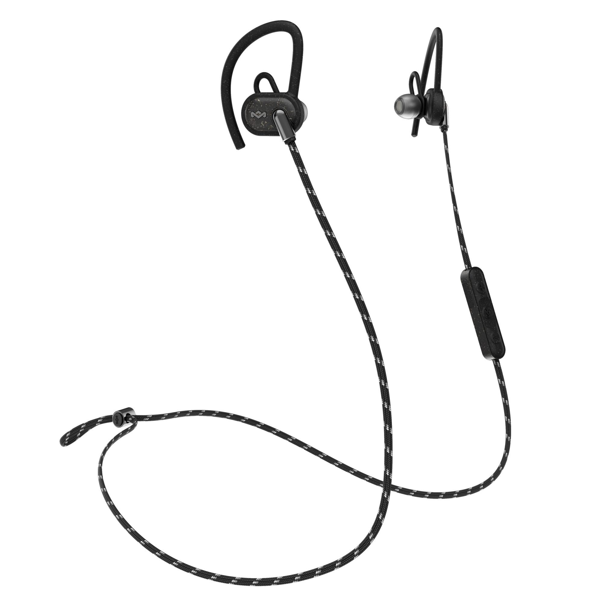 Fotografie Casti in-ear bluetooth House of Marley Uprise Active Wireless EM-FE063, Black