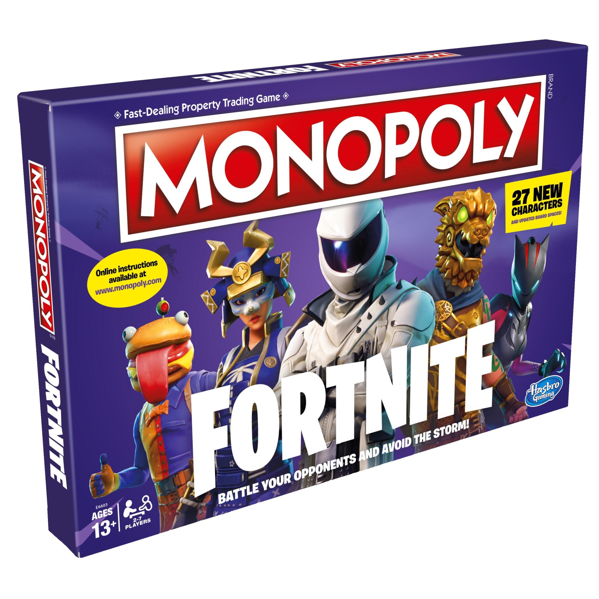 Fotografie Joc Monopoly - Fortnite