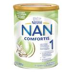 Висококачествено мляко на прах за кърмачета Nestlé NAN ® Comfortis 1, подходящо за консумация от момента на раждането, метална кутия, 800g