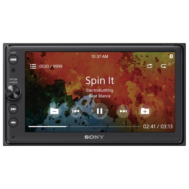 Fotografie Multimedia Player auto Sony XAVAX100C, extra bass, bluetooth, amplificator, 4 x 55W, Black