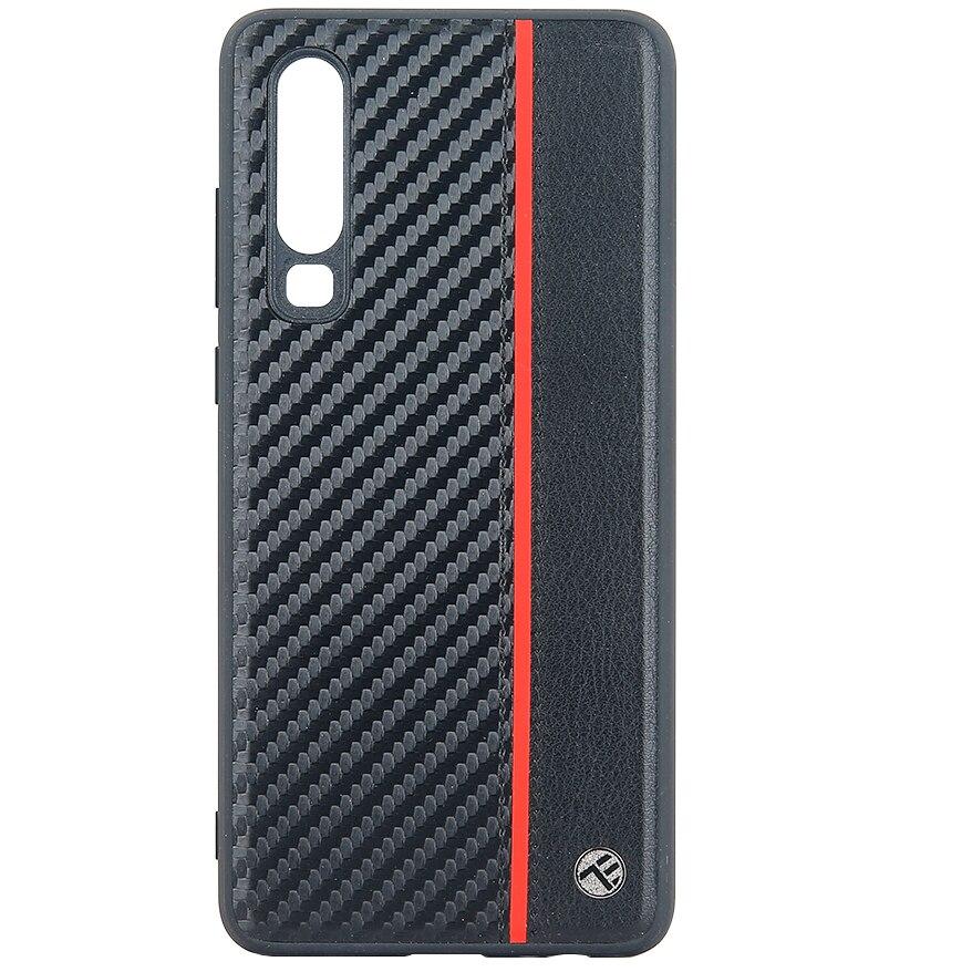 Fotografie Husa de protectie Tellur Carbon pentru Huawei P30, Negru