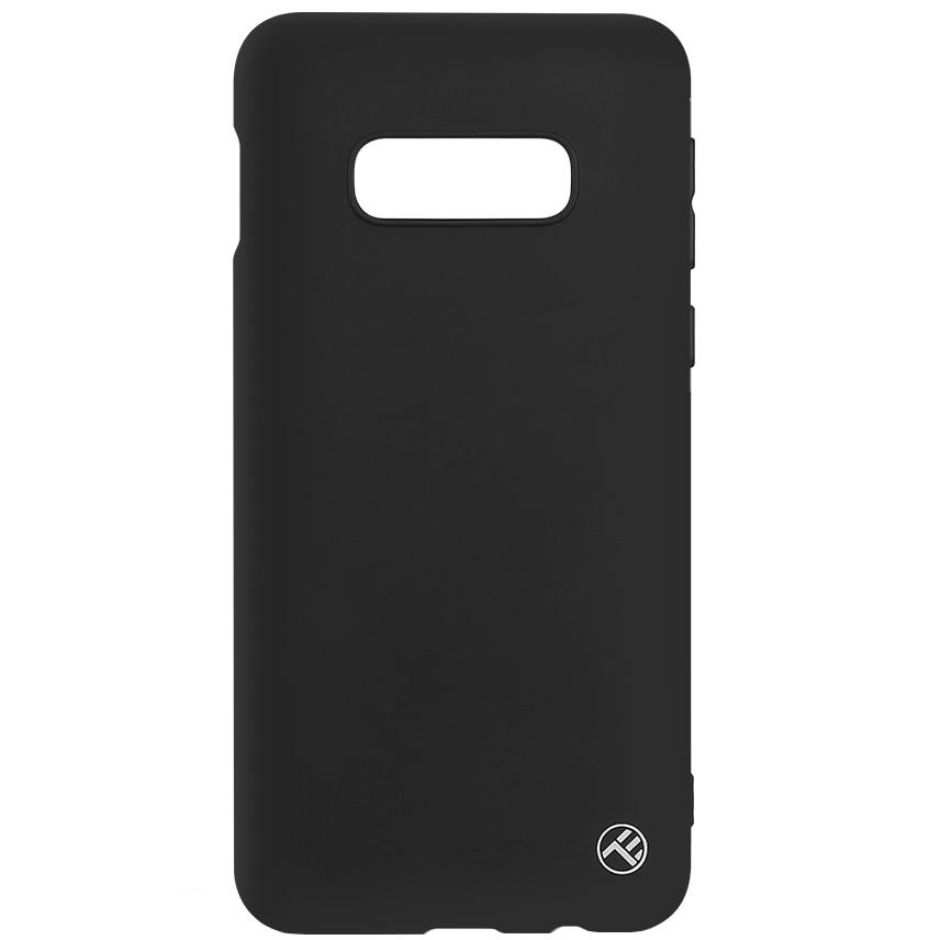 Fotografie Husa de protectie Tellur Silicon mat pentru Samsung Galaxy S10e, Negru