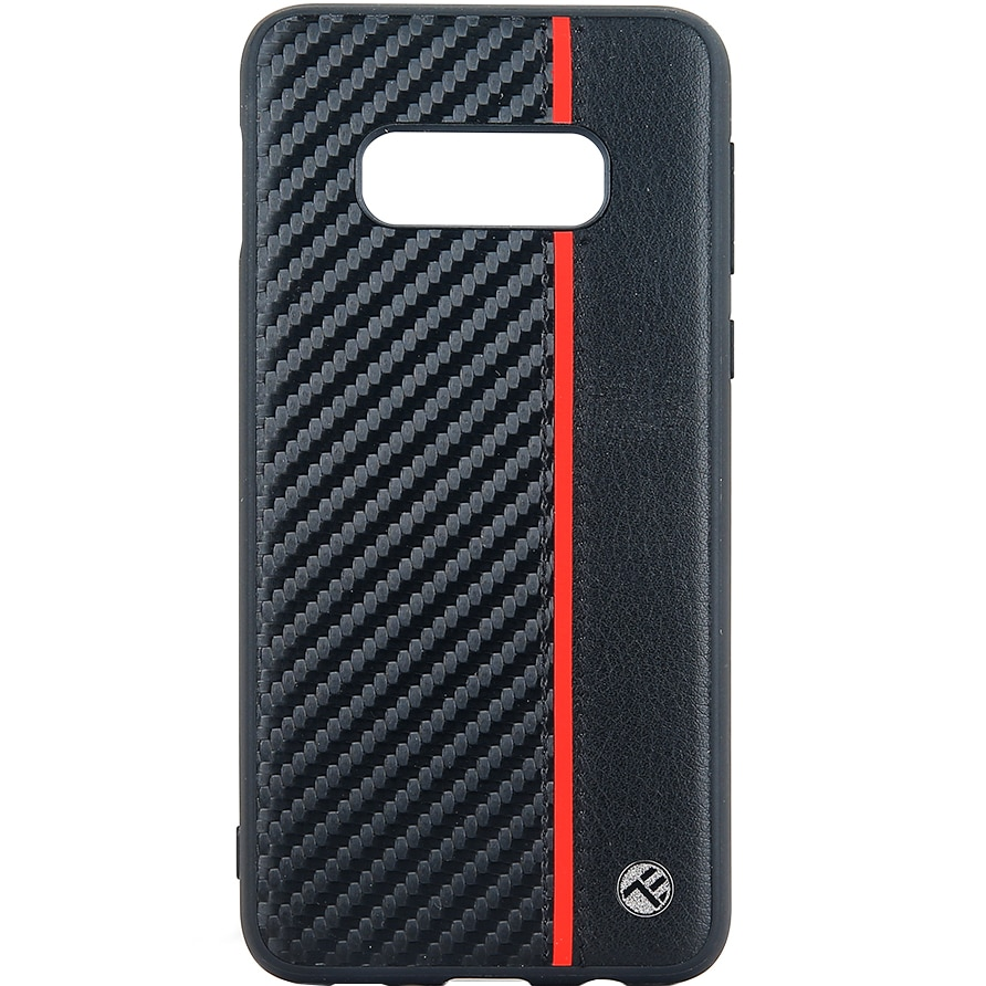 Fotografie Husa de protectie Tellur Carbon pentru Samsung Galaxy S10e, Negru