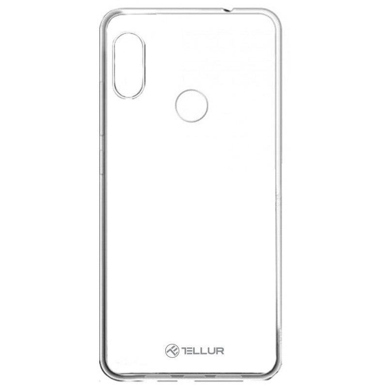 Fotografie Husa de protectie Tellur Silicon pentru Xiaomi Redmi Note 6 Pro, Transparent
