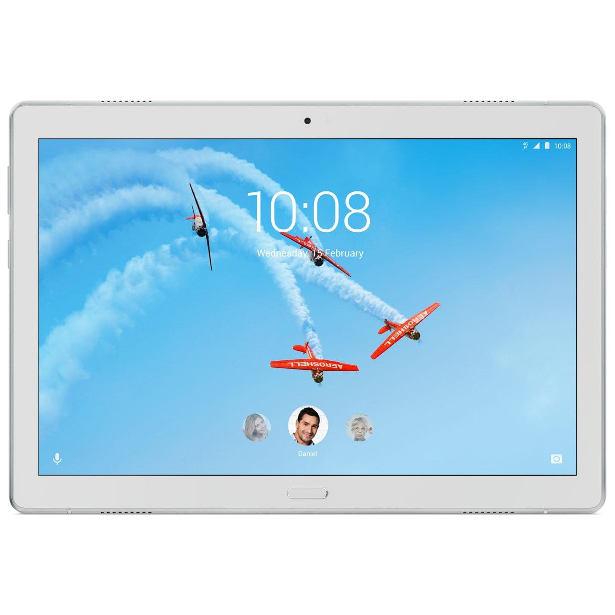 "Fotografie Tableta Lenovo Tab P10 TB-X705L, Octa-Core 1.8GHz, 10.1"", 3GB RAM, 32GB, 4G, Sparkling White"