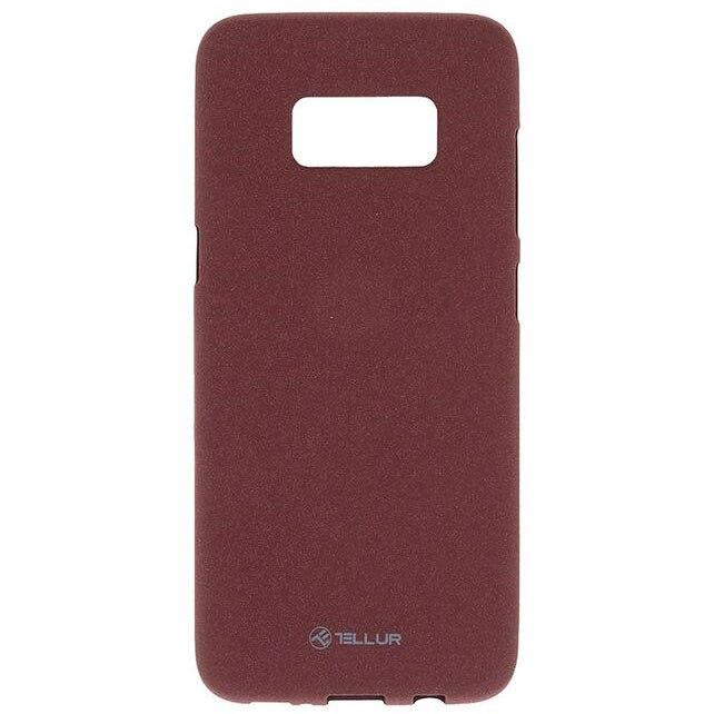 Fotografie Husa de protectie Tellur Sand Silicon pentru Samsung S8 Plus, Burgundy