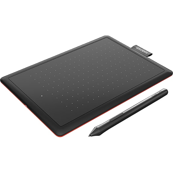 Fotografie Tableta grafica Wacom One Small, Negru/Rosu