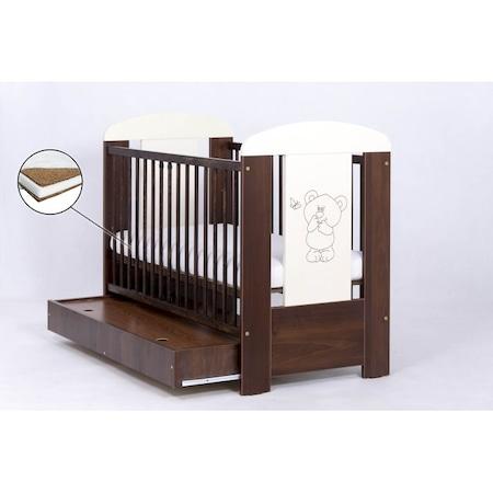 Легло Drewex bear с чекмедже - венге+ Матрак cocos 120x60x8 см