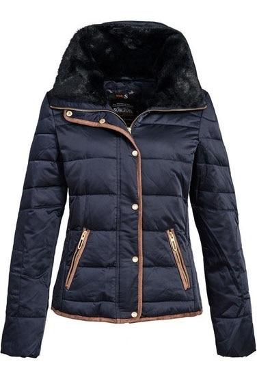Sublevel női kabát, sötétkék, XL
