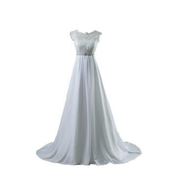 Menyasszony ruha, Eleonora, A-vonal, Color Ivory, Méret 36 EU
