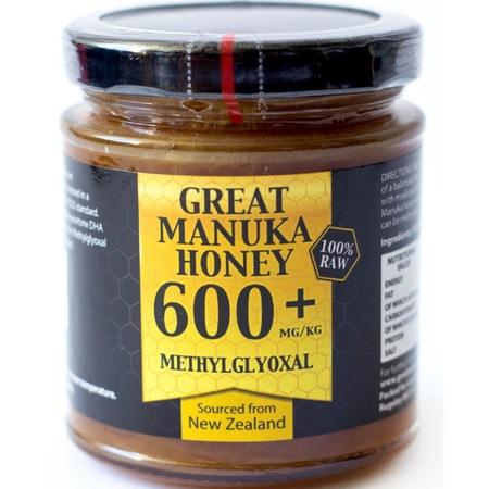 Miere de Manuka MGO™ 600+, 250 g