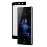 Стъклен протектор 5D Full Glue Tempered Glass за Sony Xperia XZ3, Черен