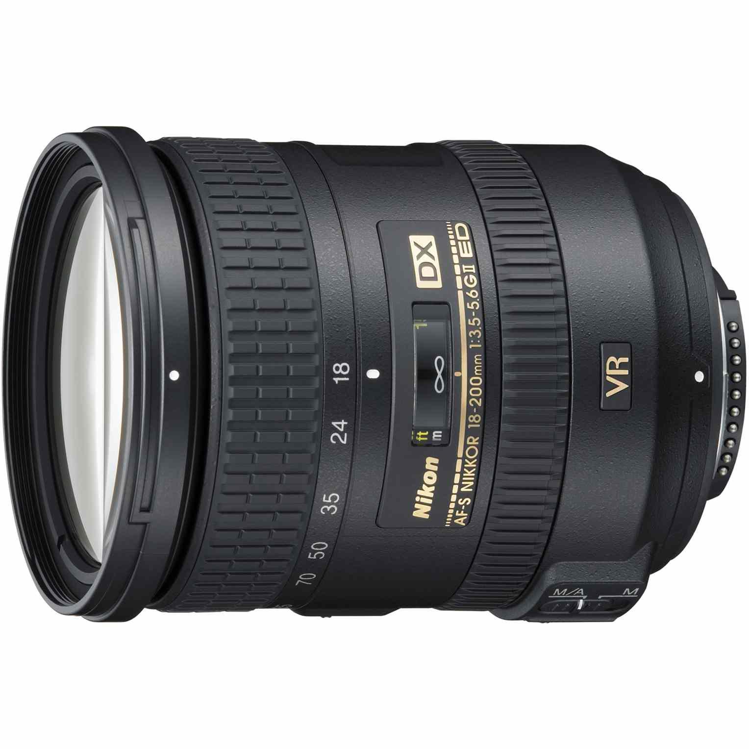 Fotografie Obiectiv Nikon 18-200mm f/3.5-5.6G AF-S DX ED VR II