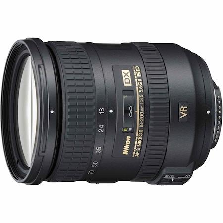 Обектив Nikon 18-200mm f/3.5-5.6G AF-S DX ED VR II