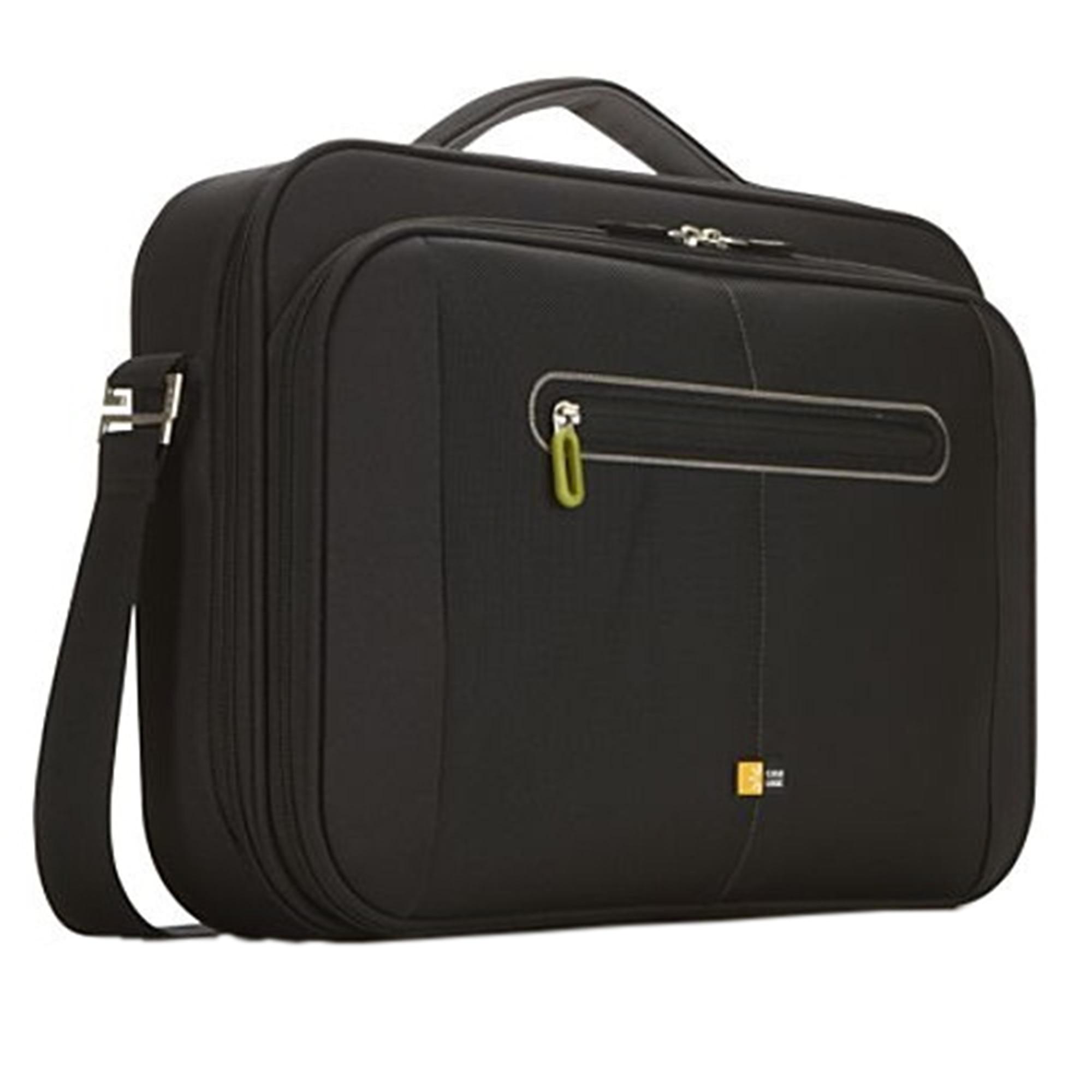 """Fotografie Geanta laptop Case Logic slim PNC 216 pentru 16"""", Negru/Verde"""